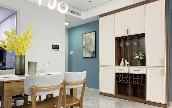 森盛家具现代简约风格三房两厅全屋定制