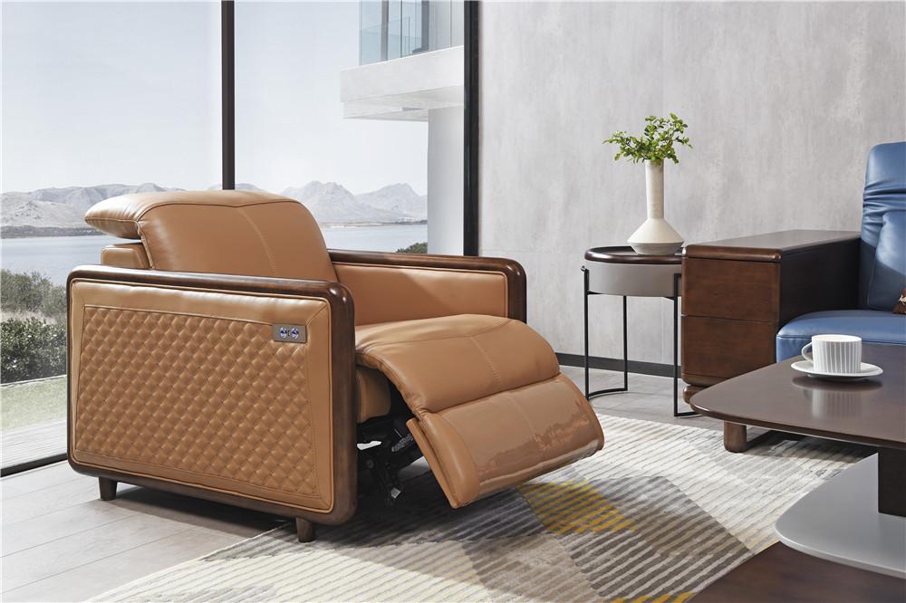 上海森盛家具极简主义意式功能沙发