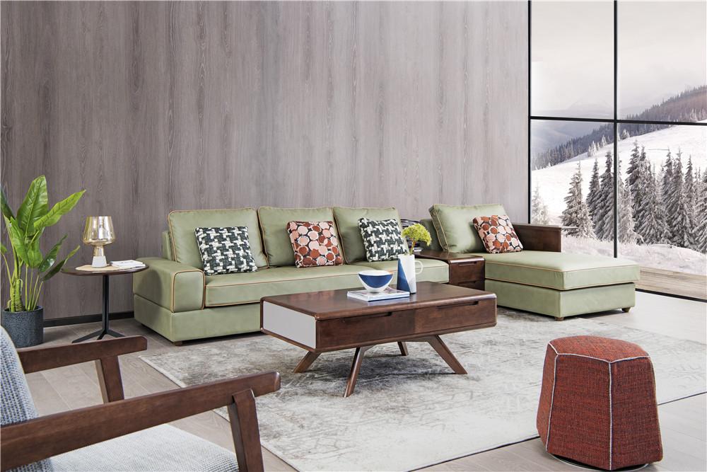 上海森盛家具极简主义意式客厅家具