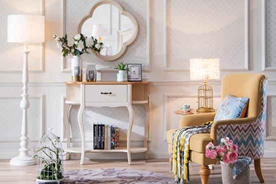 森盛法式家具罗曼+系列梳妆台