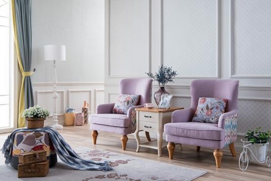 森盛法式家具罗曼+系列SFG9001布艺沙发组合