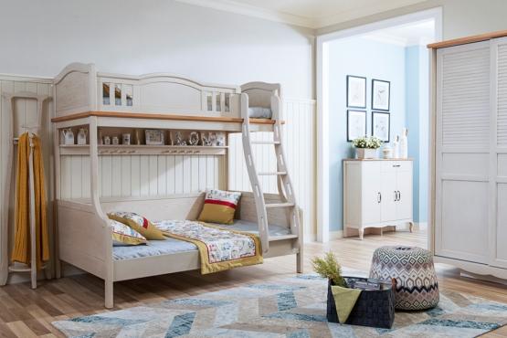 森盛法式家具罗曼+系列A95-2儿童床
