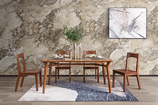 森盛实木家具优奢之家系列餐厅