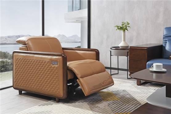 森盛家具极简主义意式功能沙发