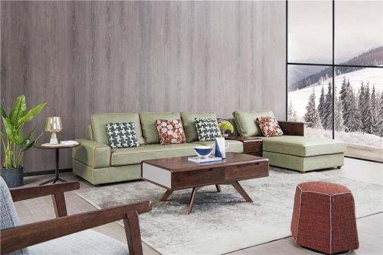 天津森盛家具极简主义意式客厅家具