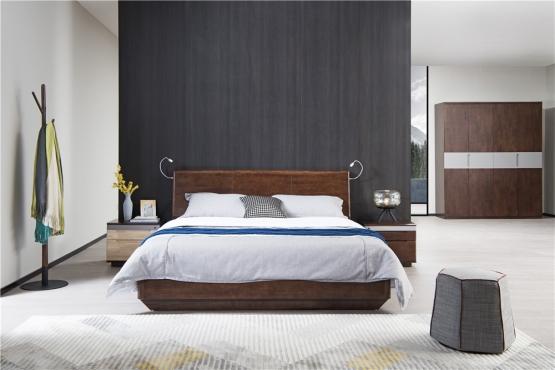 森盛极简意式风格木图系列卧房家具