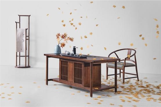 天津森盛家具新中式庐境系列书房
