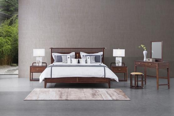 森盛家具新中式庐境系列卧房