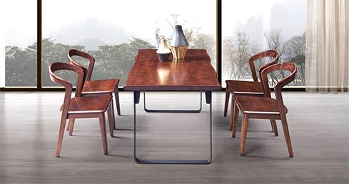 森盛极简意式家具木图餐厅系列