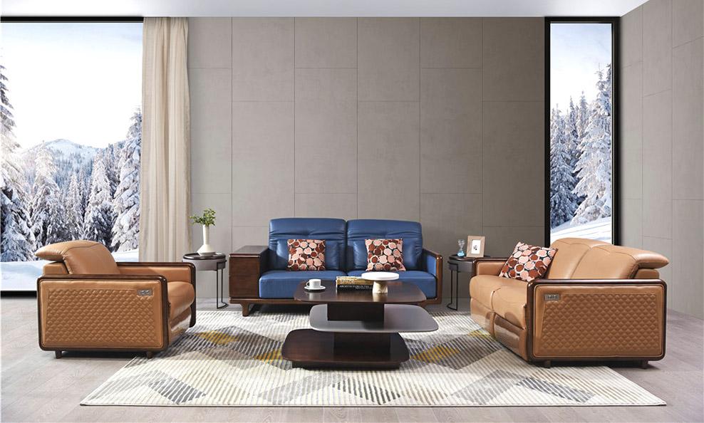 森盛极简意式家具木图客厅系列