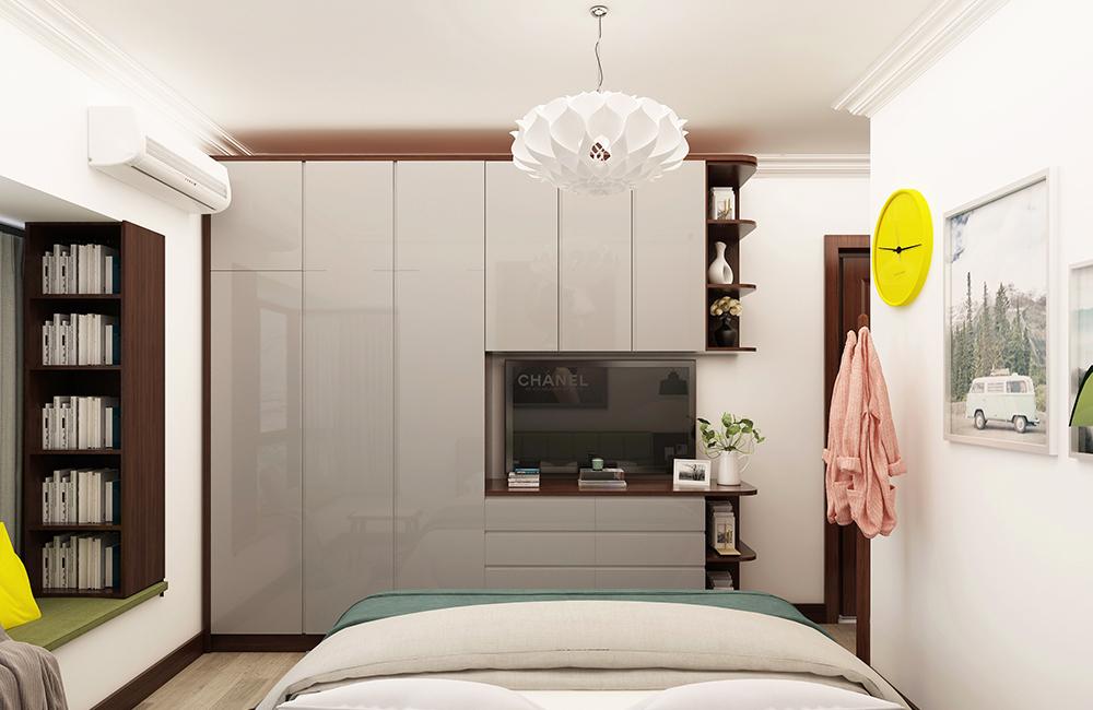 极简意式105平米三房两厅全屋定制