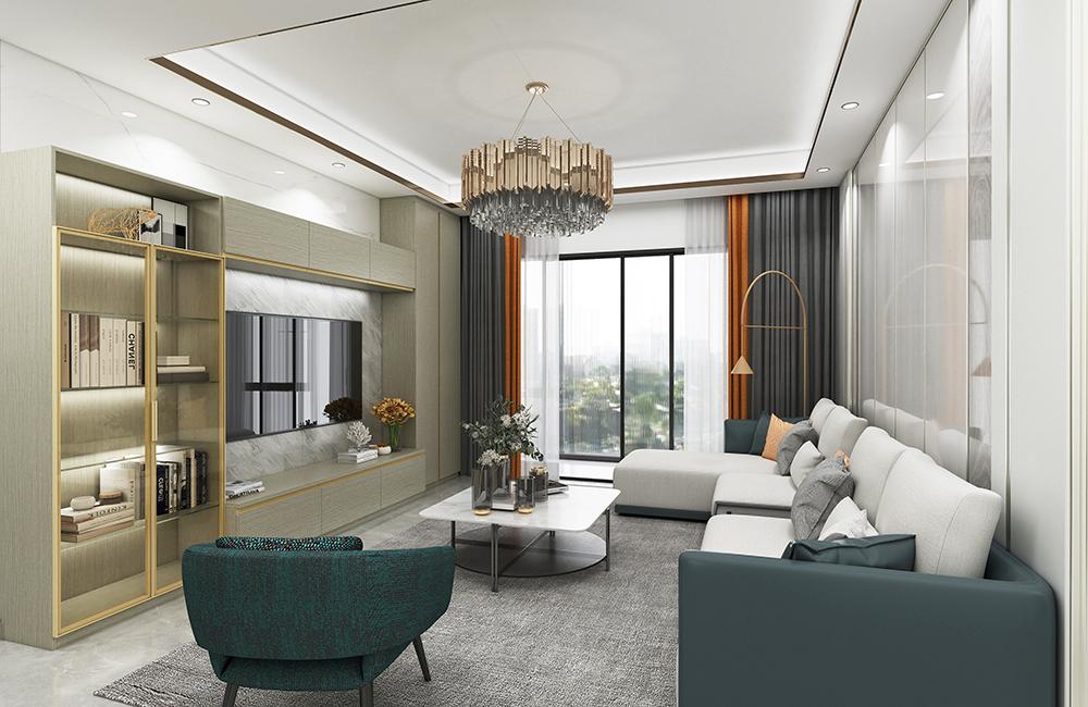 森盛家具极简轻奢玛莎系列三房两厅